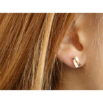 ALOFT-OHRRING-EARRING-NO6-ROTGOLD-RED-GOLD-HOCHGLANZ-POLIERT-HIGH-GLOSS-FINISH-LARISSAGEHRMANN