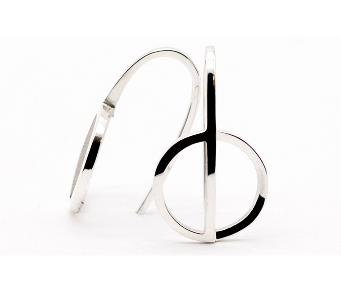 ALOFT-OHRRING-EARRING-NO4-SILBER-HOCHGLANZ-POLIERT-HIGH-GLOSS-FINISH-LARISSAGEHRMANN